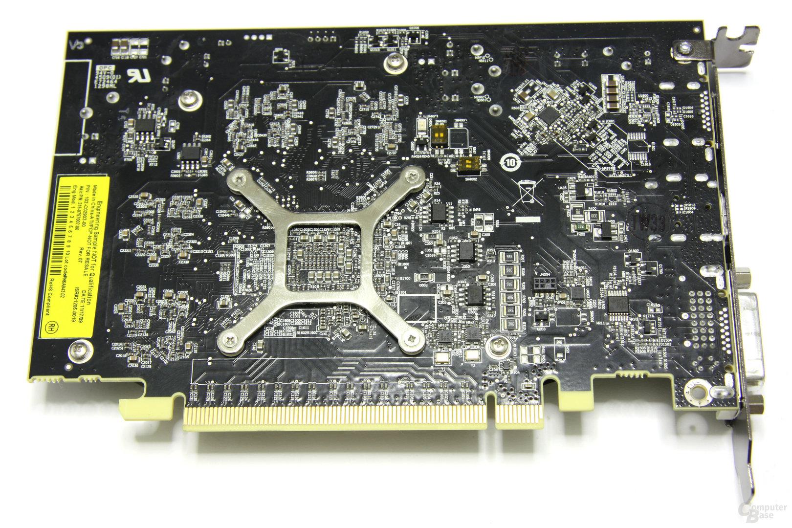 Radeon HD 5670 Rückseite