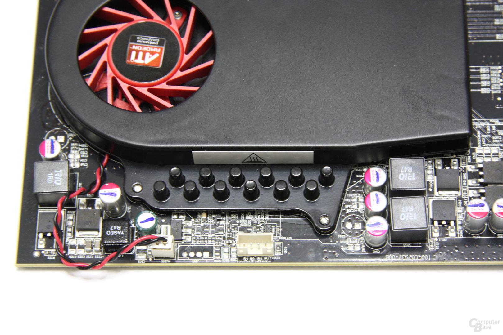 Radeon HD 5670 Speicherkühler