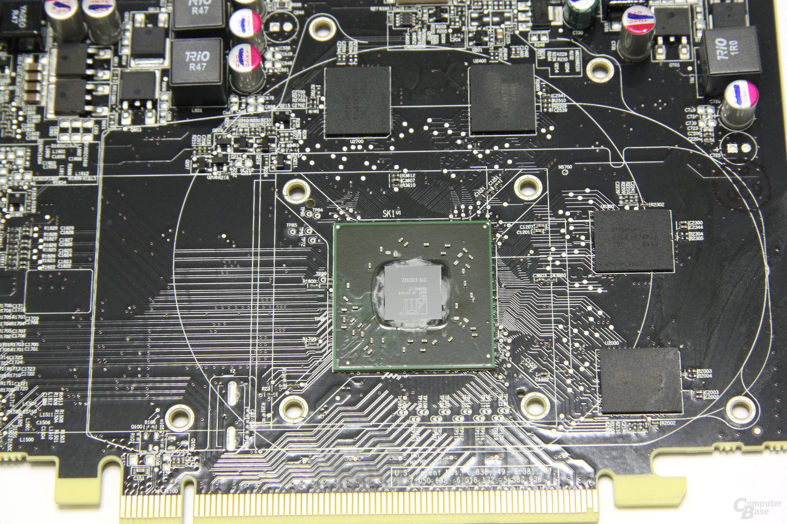 Radeon HD 5670 GPU und Speicher