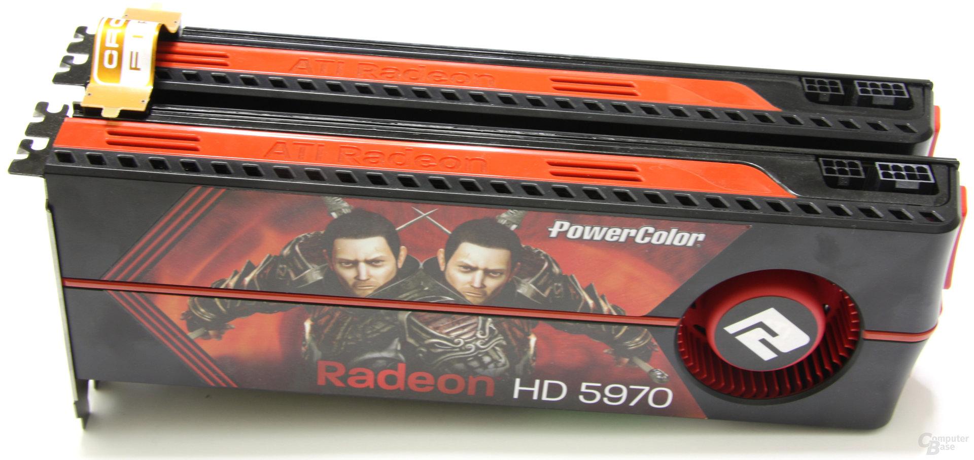 PowerColor Radeon HD 5970 CrossFire
