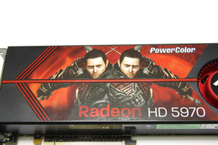 Radeon HD 5970 Aufkleber