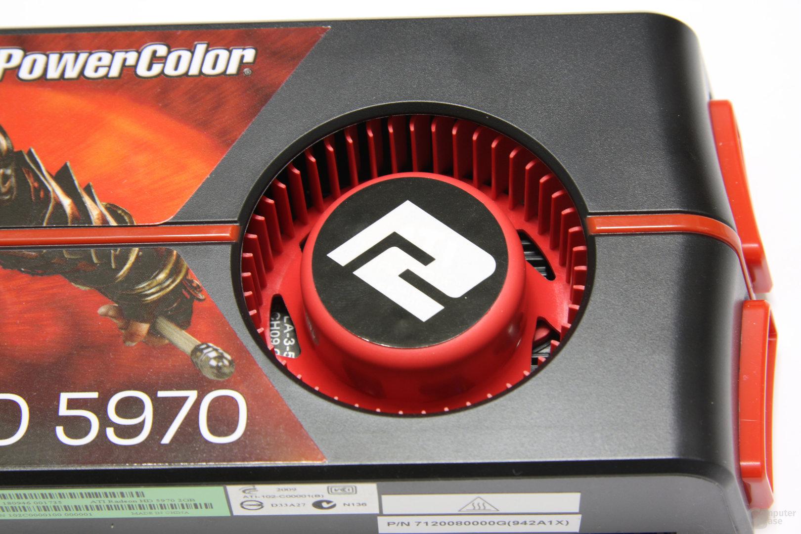 Radeon HD 5970 Lüfter