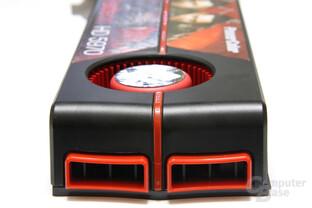 Radeon HD 5970 von hinten