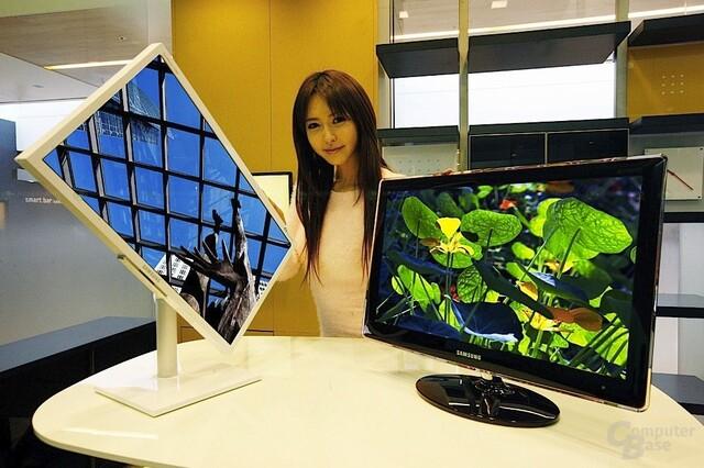 Samsung-Bildschirme mit hohem Kontrast