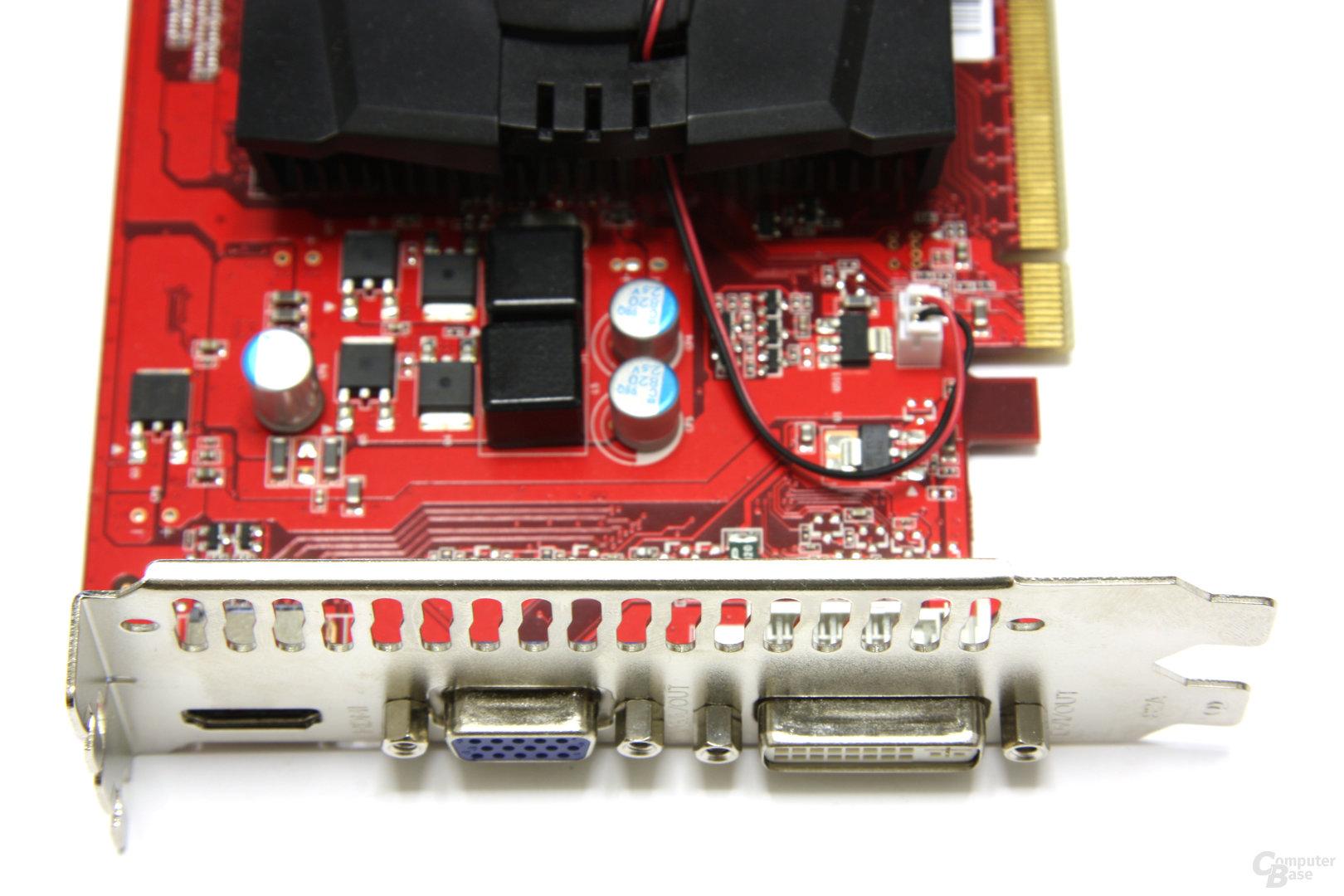 GeForce GT 240 Anschlüsse