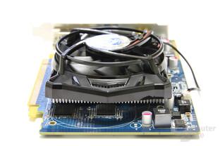 Radeon HD 5670 von hinten