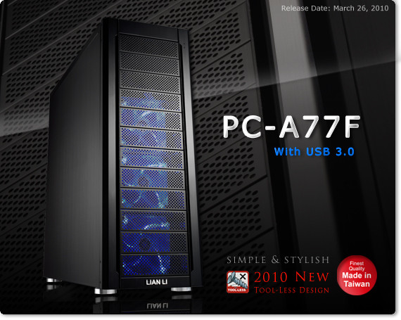 Lian Li PC-A77F-B