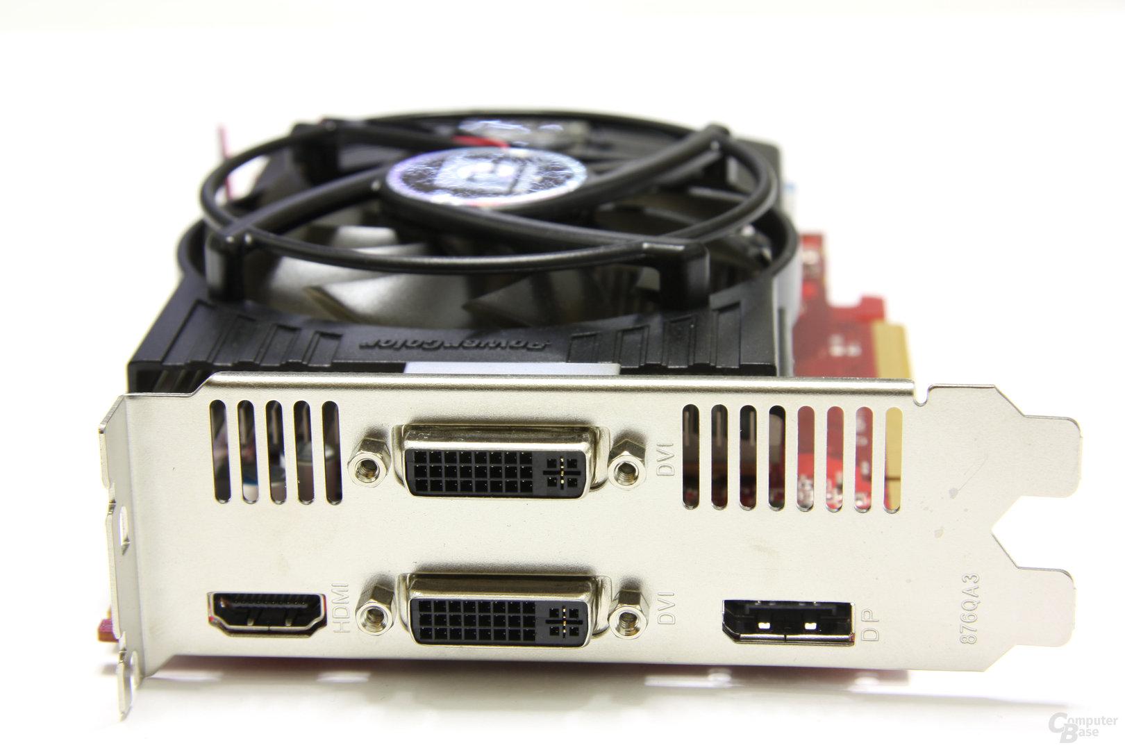 Radeon HD 5770 PCS+ Slotblech