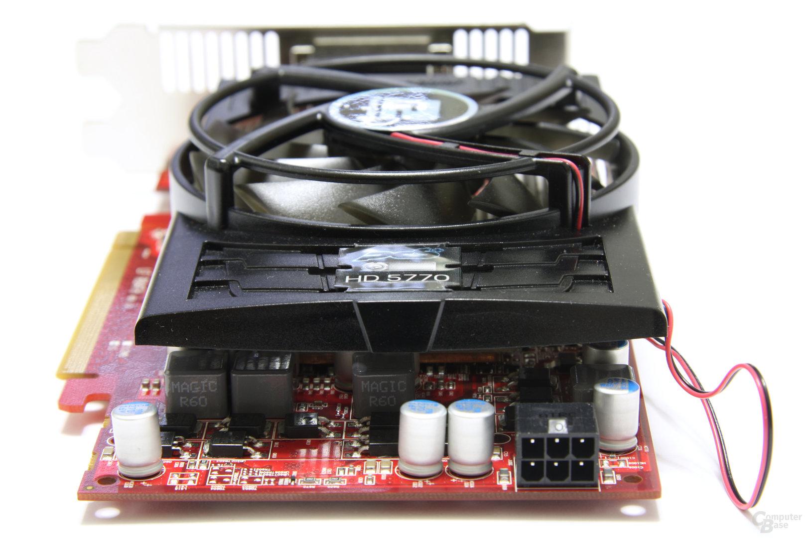 Radeon HD 5770 PCS+ von hinten