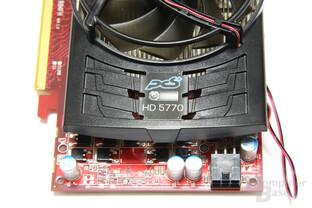 Radeon HD 5770 PCS+ von oben
