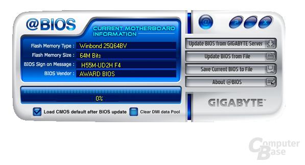 Gigabyte H55M-UD2H Software