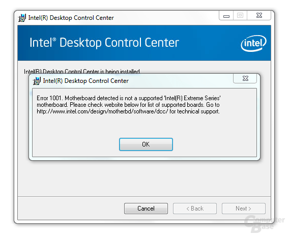 Intel DH55TC Software