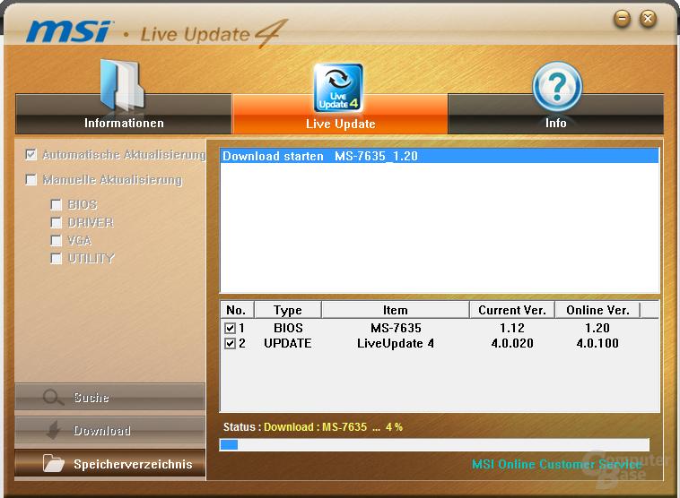MSI H55M-ED55 Software