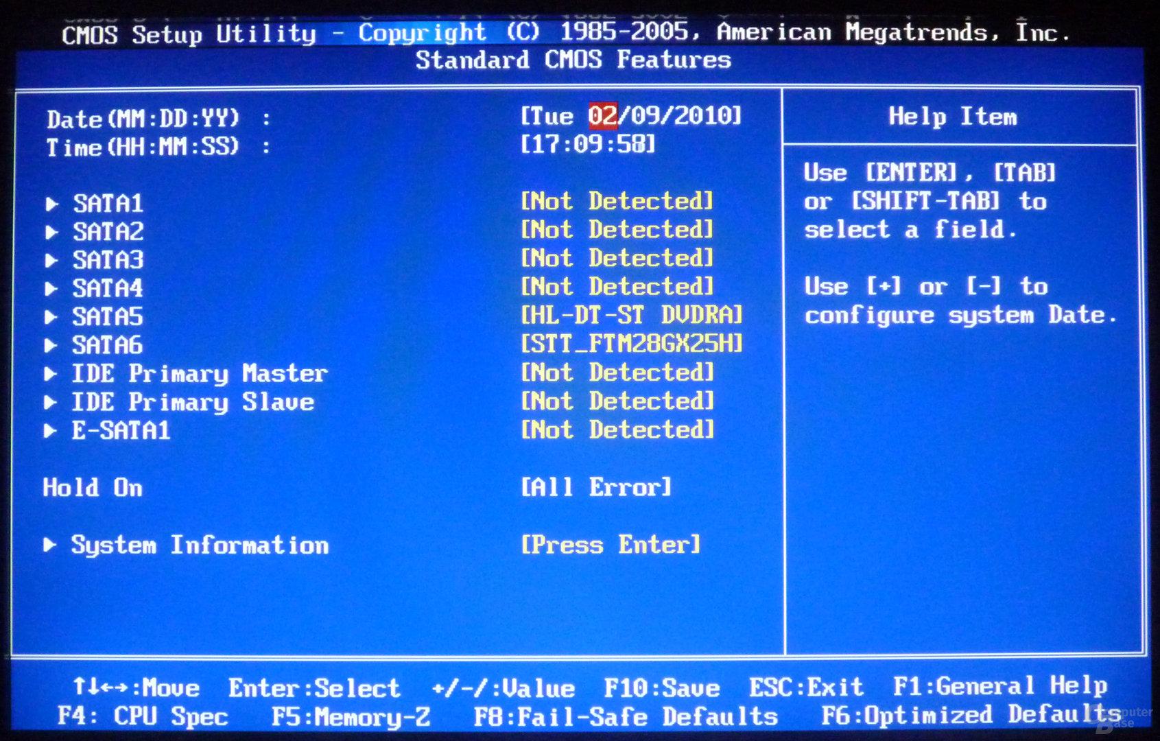 MSI H55M-ED55 BIOS