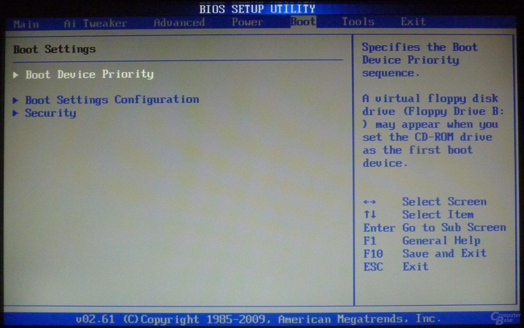 Asus P7H55-M Pro BIOS