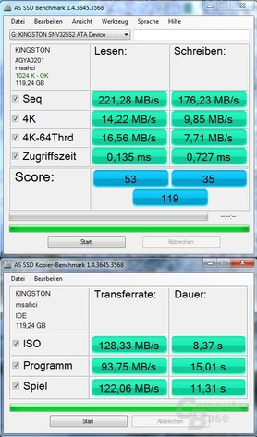 ASS SSDNow V+ 128 GB