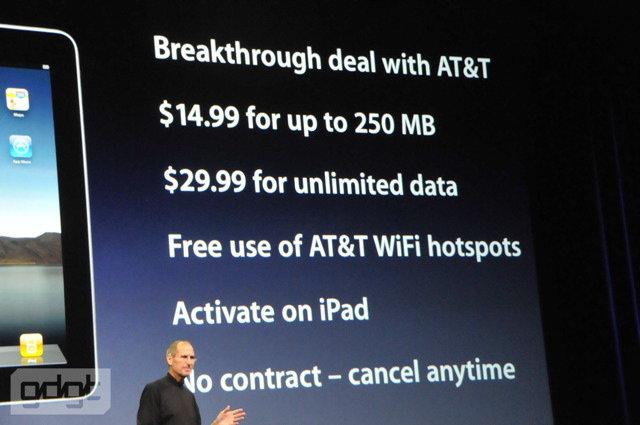 Apples iPad | Quelle: gdgt.com