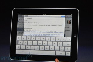 Apples iPad | Quelle: engadget.com