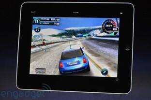 Spiele auf dem iPad | Quelle: Engadget.com