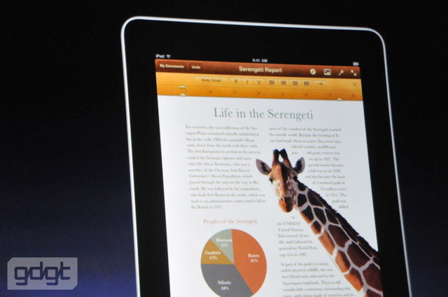 Apple iPad | Quelle: gdgt.com