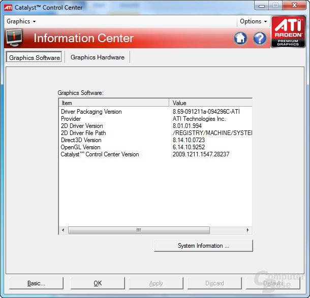 ATi Catalyst 10.1