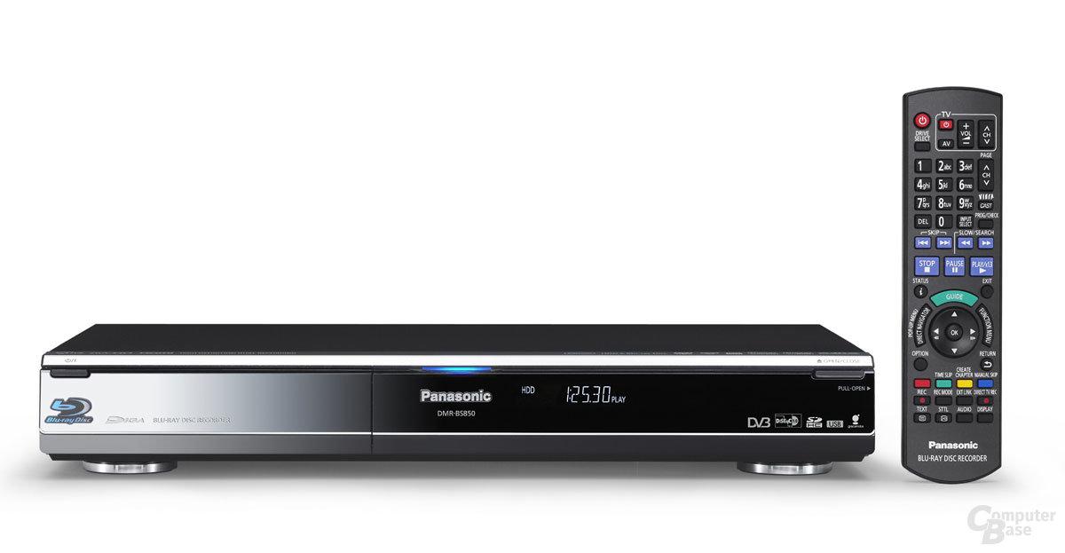 Panasonics Blu-ray-Recorder DMR-BS850
