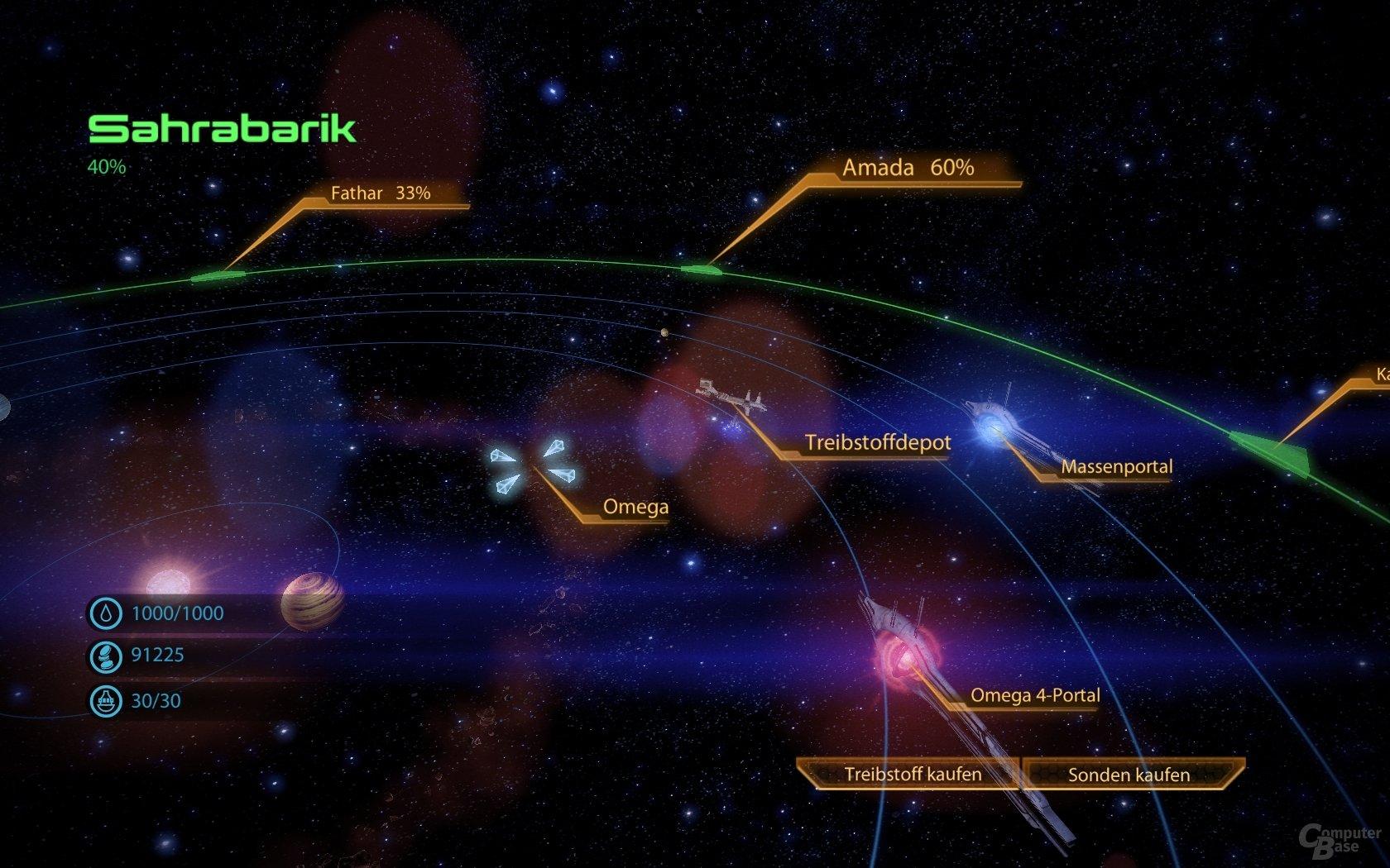 """""""Mass Effect 2"""" – Sternenkarte"""
