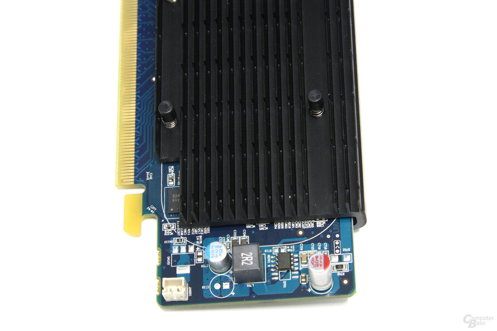 Radeon HD 5450 von oben