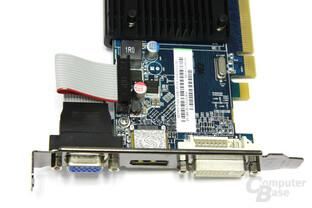 Radeon HD 5450 Anschlüsse