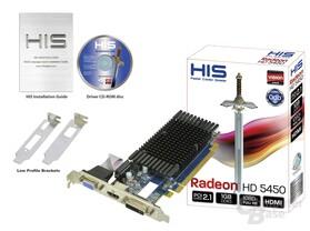 HIS Radeon HD 5450 mit 1 GByte DDR3