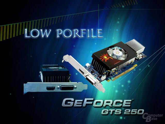 Sparkle GeForce GTS 250 mit kleinem Profil