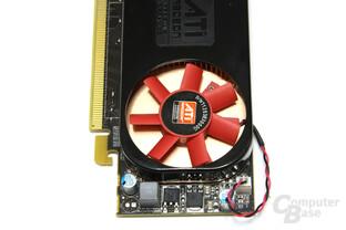 Radeon HD 5570 von oben