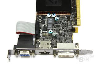 Radeon HD 5570 Anschlüsse