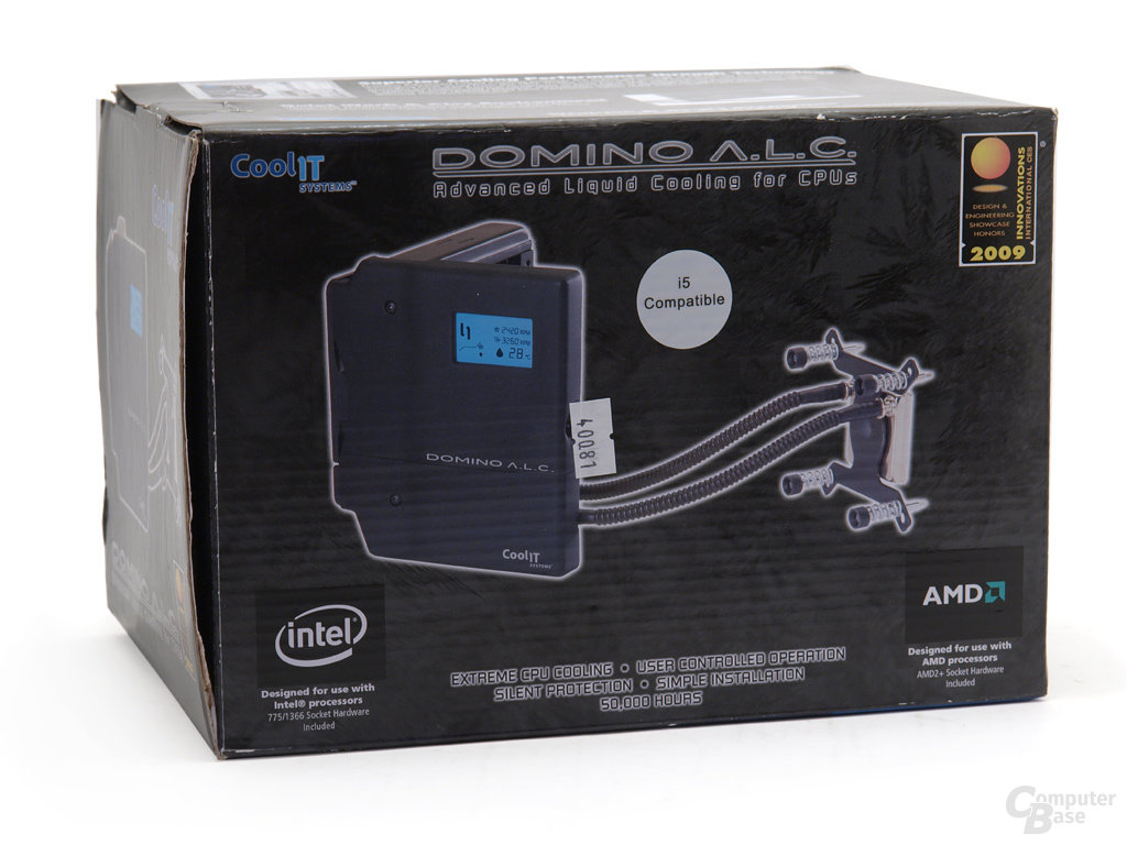 CoolIT Systems Domino A.L.C. Verpackung