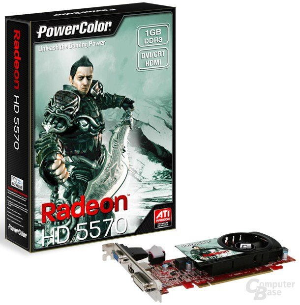 ATi Radeon HD 5570 der Boardpartner