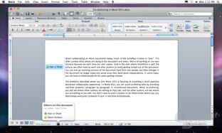Microsoft Office for Mac 2011 (Word)