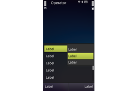 Symbian^3 – Optionen