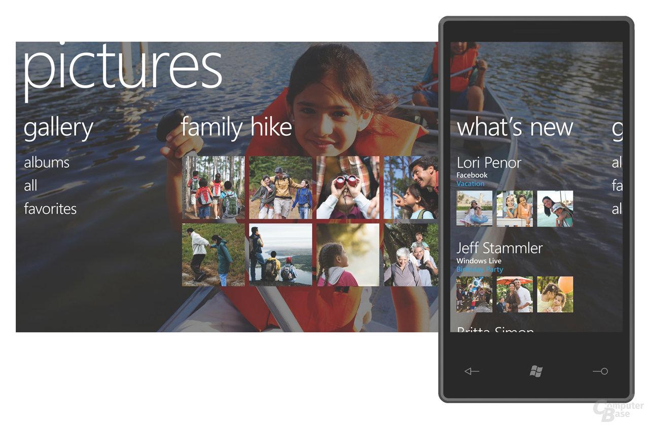 Bilder-Bildschirm