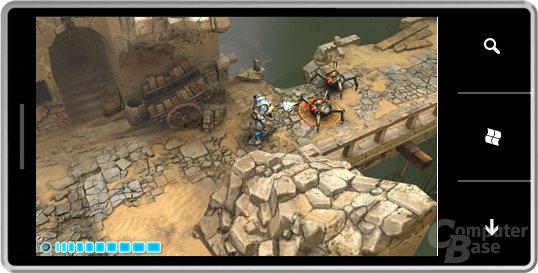 Harvest - eines der Spiele für Windows Phone 7 Series