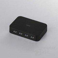 USB-3.0-Hub mit vier Ports von Buffalo