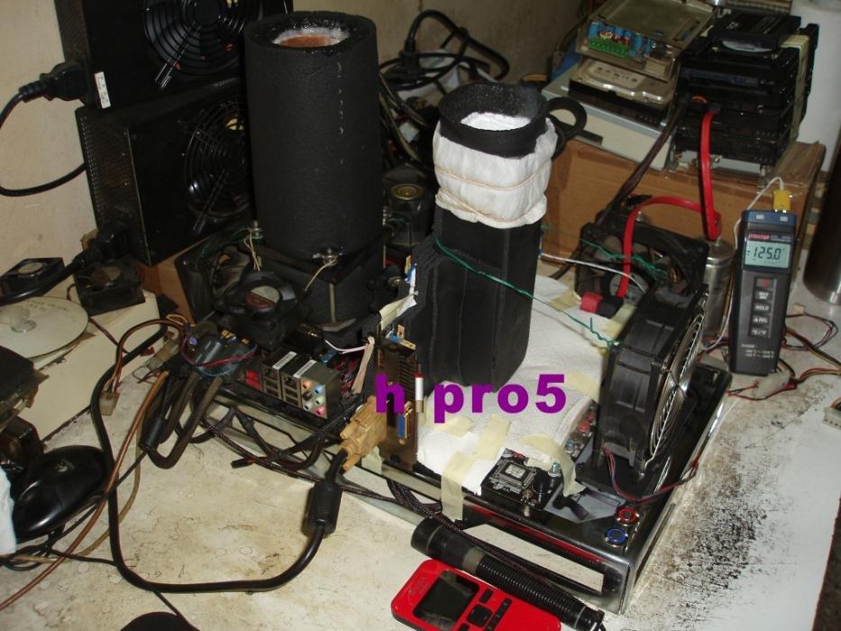MSI Radeon HD 5870 mit Stickstoff übertaktet