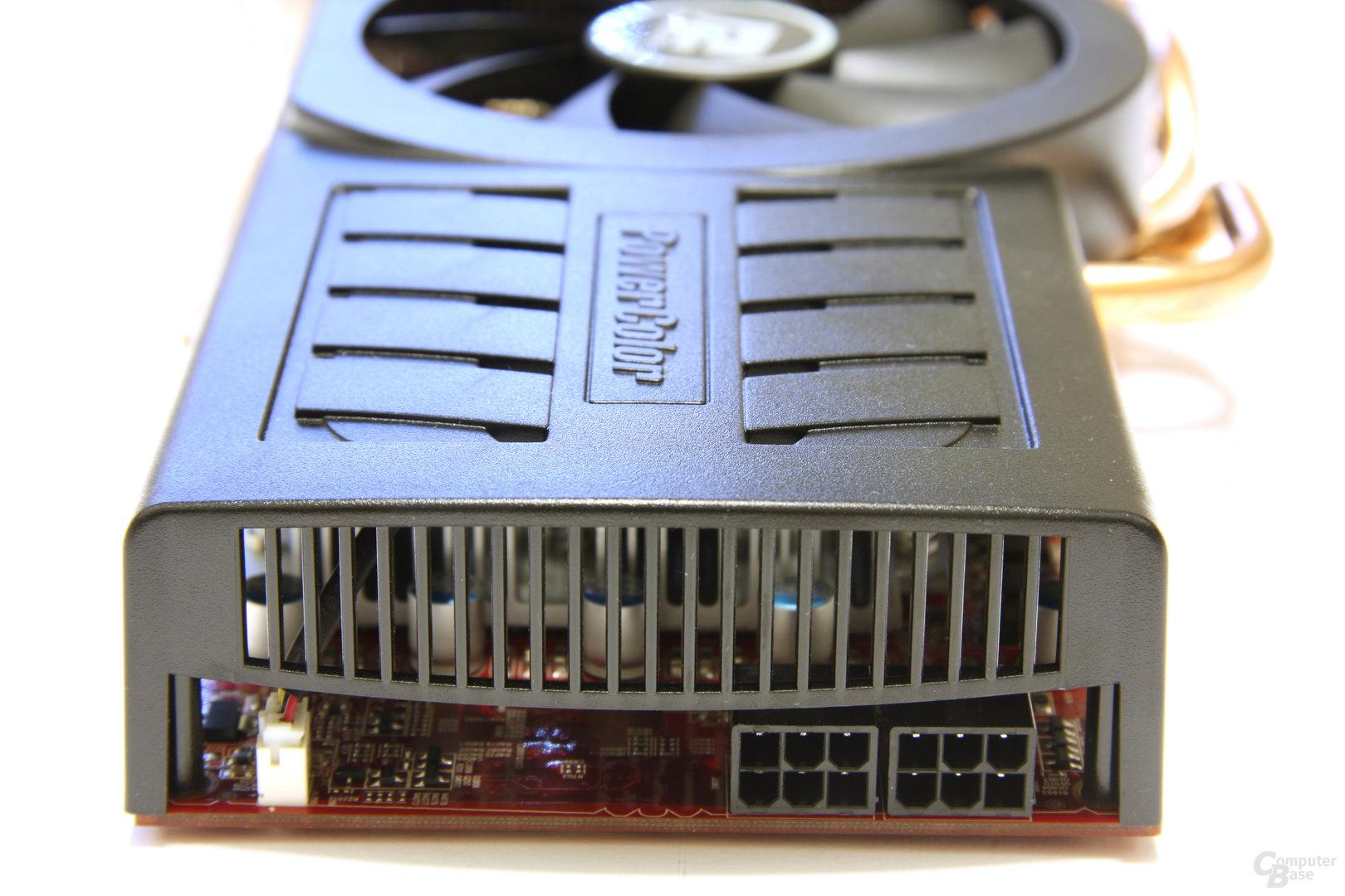 Radeon HD 5850 PCS+ von hinten