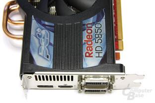 Radeon HD 5850 PCS+ Anschlüsse