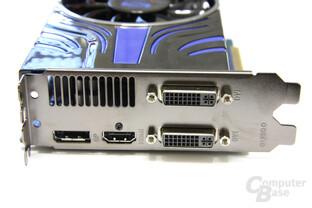 Radeon HD 5850 Toxic Slotblech