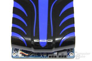 Radeon HD 5850 Toxic von oben