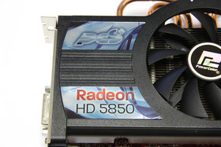Radeon HD 5850 PCS+ Aufkleber