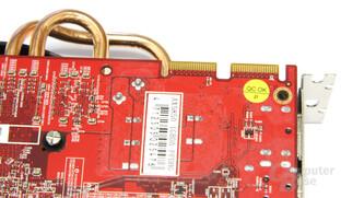 Radeon HD 5850 PCS+ CF-Anschlüsse