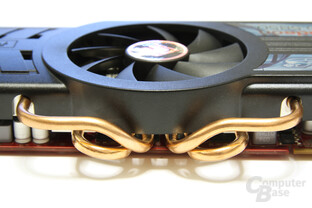 Radeon HD 5850 PCS+ Heatpipes
