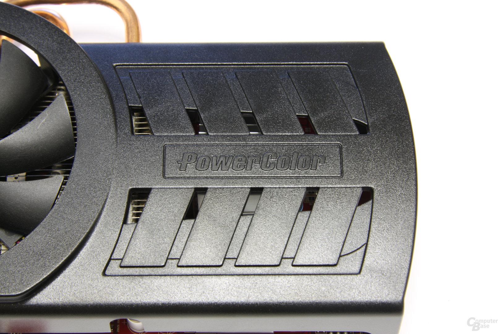 Radeon HD 5850 PCS+ Kühlschlitze