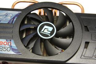 Radeon HD 5850 PCS+ Lüfter